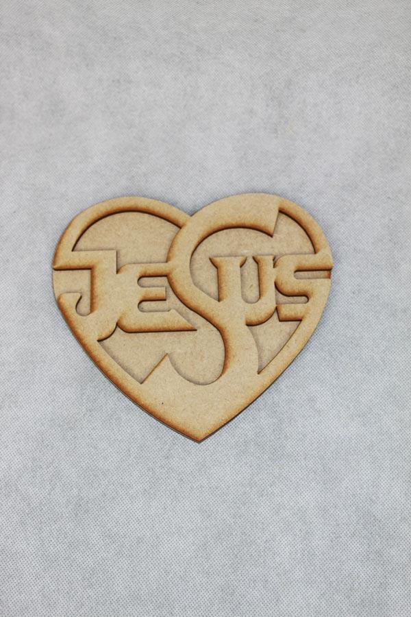 jezus lasergesneden uit mdf hout