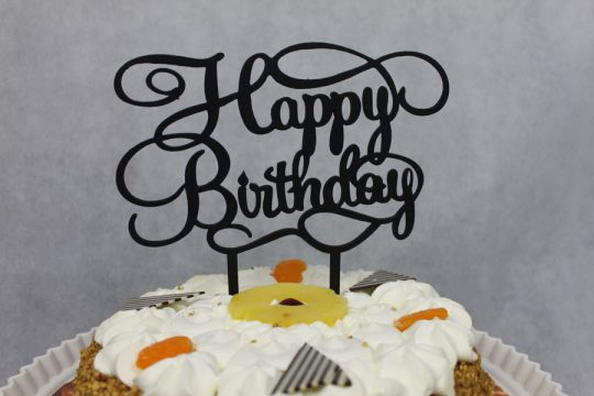 verjaardagstaart taarttopper